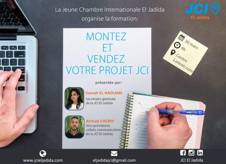 Montez et vendez votre projet JCI